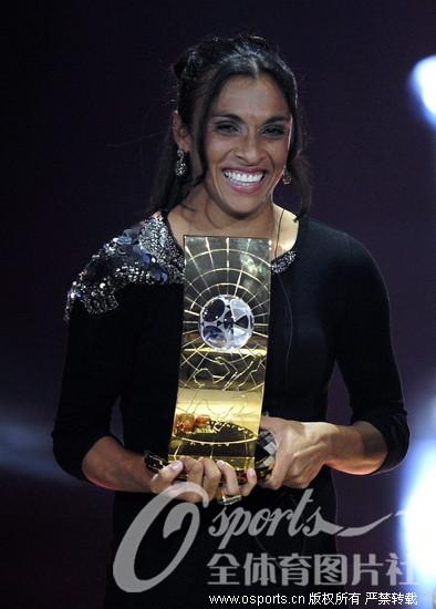 梅西/2009年12月22里,2009年度国际足联颁奖典礼在瑞士苏黎世会议...